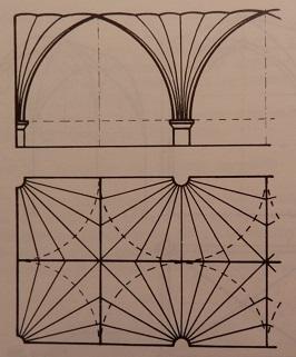bóveda en abanico